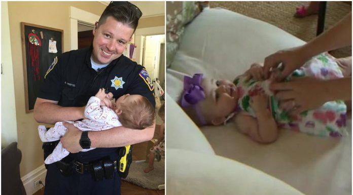 Policajac posvojio bebu od jedne beskućnice