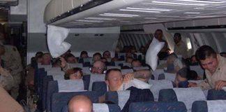 Čovjek je slučajno čuo razgovor dva vojnika u avionu - odmah je morao otići po stjuardesu