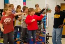 Djeca iznenađenjem za rođendan rasplakali svog gluhog domara iz vrtića