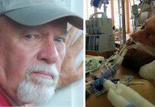 Rastavljena žena je pokušala isključiti s aparata svog bivšeg muža, ali djed ju je u tome spriječio