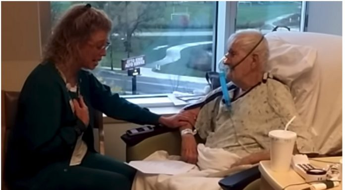 Medicinska sestra je zapjevala starijem pacijentu, svi su se iznenadili kada su vidjeli što je on učinio