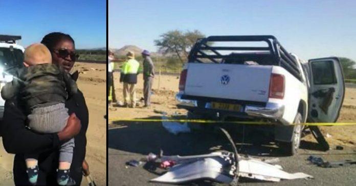 Žena je naišla na slupani automobil u kojem je bio ozljeđeni dječak