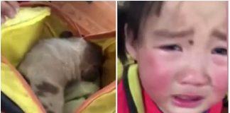 Učenica je pronašla psa na putu za školu. Kada joj je učiteljica otvorila ruksak, počela je plakati!