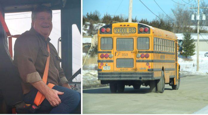 Kada se na grad spustilo snježno nevrijeme, vozač autobusa je školskoj djeci priredio božićno iznenađenje