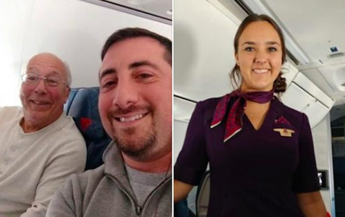 Tata je cijeli Badnjak i Božić proveo sasvojom kćerkom stjuardesom u zraku