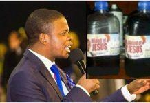 Prorok prodaje Isusovu krv u bocama