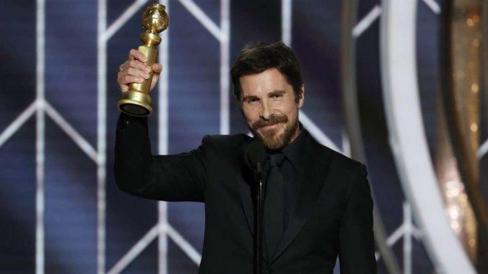 Christian Bale zahvalio Sotoni na primljenom Zlatnom globusu