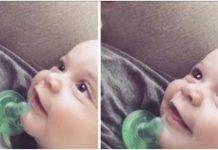 """Majka pjeva """"Daj mi Isusa"""" nasmiješenoj bebi"""