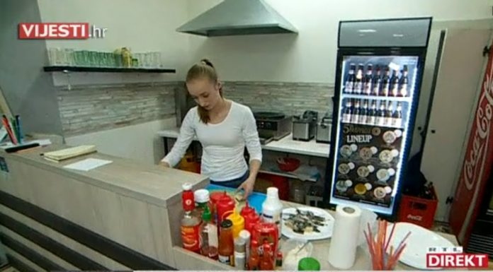 Slavonka otvorila fast food kojem poklanja hranu
