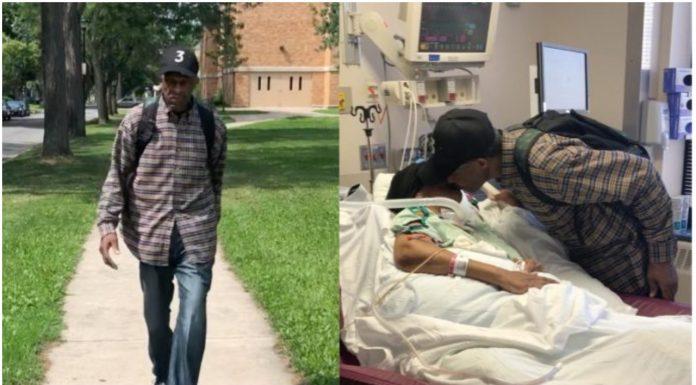 Djed svaki dan hoda 9,5 kilometara kako bi posjetio svoju ženu u bolnici