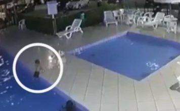 Dječak (3) je upao u bazen i počeo se gušiti