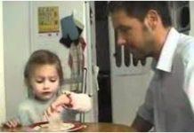 Tata je ukrao kćerkici puding