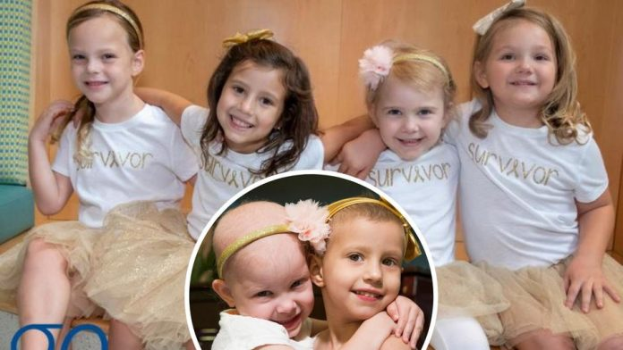 Četiri djevojčice su se liječile od raka i zajedno ga pobijedile