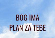 Božji plan je bolji od svih tvojih planova