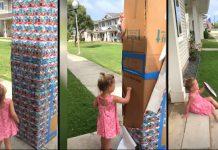 """Tata je poslao djevojčici veliku kutiju """"kolačića"""" - iznenadila se kada se kutija počela micati"""