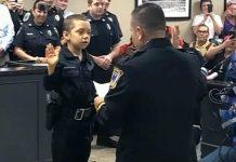Djevojčici (6) koja se bori s karcinomom ostvarili su želju da postane policajka