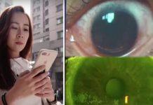 mobitel trajno oštećenje vida