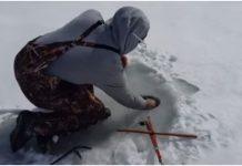 Probili su led, postavili udice, a onda ostali bez riječi kada su ovo izvukli