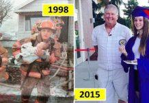 Vatrogasac je uspio spasiti bebu postao pravi heroj