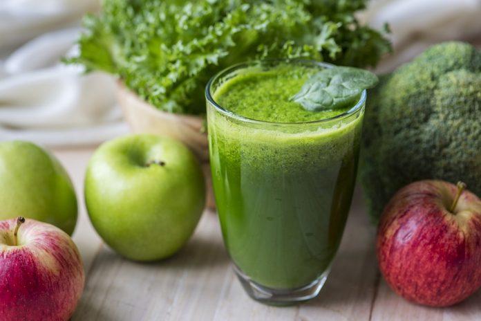 Zeleni napitak bogat kalijem smanjuje visoki krvni tlak