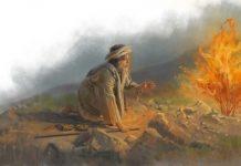 Lekcije Mojsije Bog gorući grm