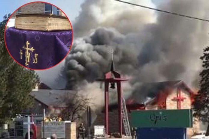Požar dva puta progutao crkve, Biblija stara 150 godina ostala netaknuta