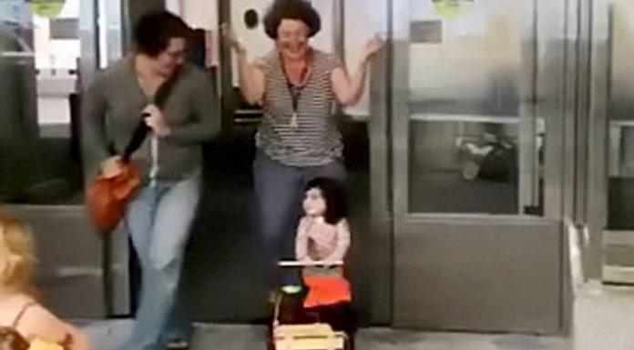 Djevojčica provela dvije godine u bolnici, ovako je reagirala kada je izašla van