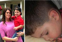 Dok je njihov sin spavao, roditelji su uočili nešto što ih je jako uznemirilo