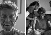 Sin je fotografirao oca 17 dana prije smrti