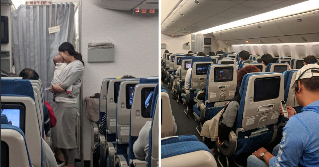 Majka dala vrećicu poklona svim putnicima u avionu