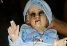Kip djeteta Isusa počeo plakati krv