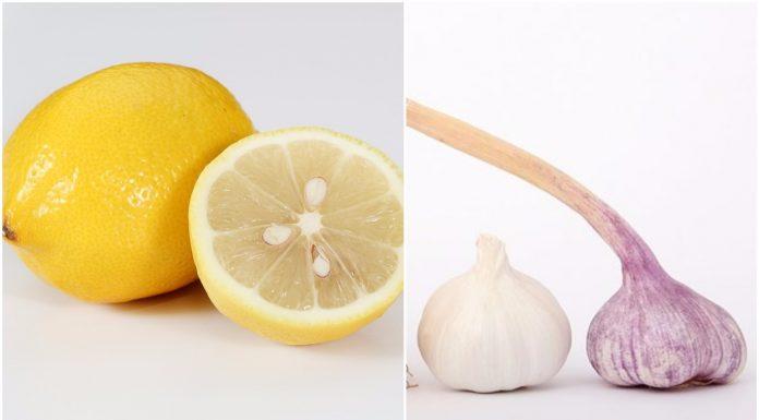 kombinacija limuna češnjaka