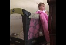 Mama se iznenadila kada je vidjela zašto njena kćerkica bježi iz krevetića
