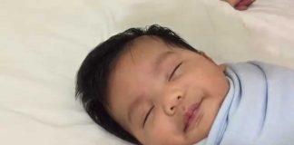 Snalažljivi otac je otkrio kako uspavati bebu u jednoj minuti