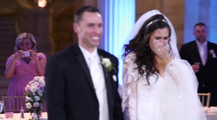 Mladenku iznenadio omiljeni pjevač na svadbi