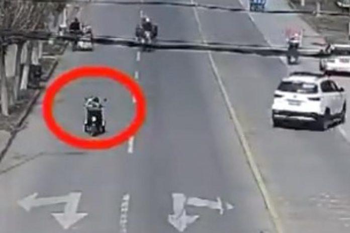 motociklist onesvijestio