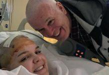 Otac obrijao glavu dok mu je kćer bila na operaciji kako se ne bi osjećala izolirano kada se probudi