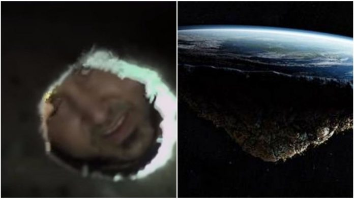 Htio je dokazati Zemlja ravna rezultat ga razočarao