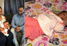 žena rodila bebu sama na podu kuće