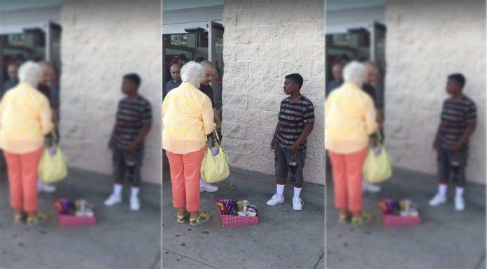 žena vrijeđala dječaka koji je prodavao slatkiše