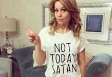 Kršćansku glumicu Candace Cameron Bure napali zbog natpisa na njenoj majici