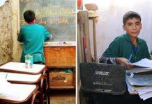 Dječak osnovao školu za siromašnu djecu pored svoje kuće