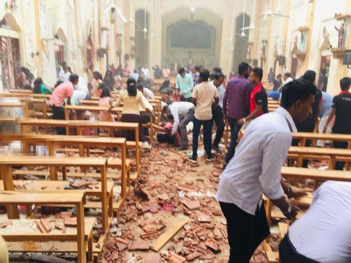 Teroristički napad Uskrs Šri Lanka