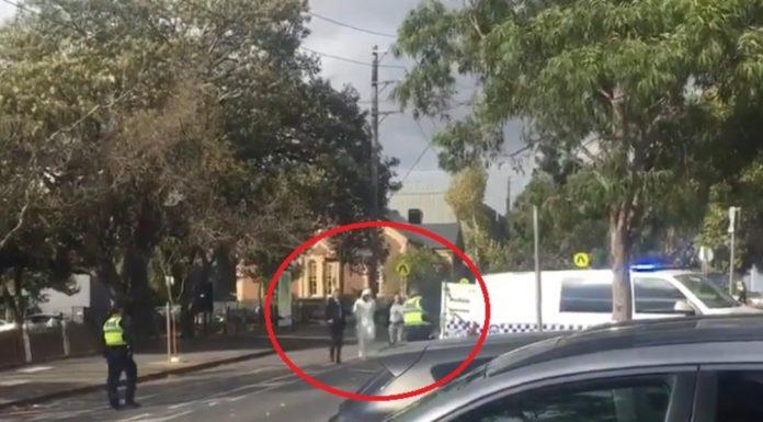 Panika u Melbourneu: Uhićen sumnjivi muškarac kod crkve