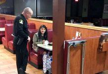 policajac usamljena djevojka