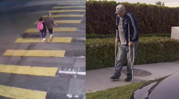 tata kći pješački prijelaz