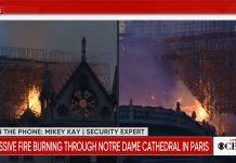 užasni prizori pariz požar guta notre dame