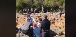 Za vrijeme molitve u Međugorju, čovjek se ponašao vrlo UZNEMIRUJUĆE