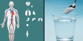 Soda bikarbona i voda