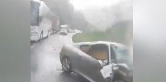 Vozač poginuo u teškoj prometnoj nesreći
